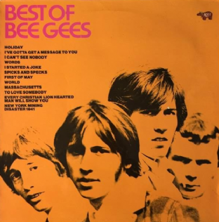 Bee Gees - Best Of Bee Gees (LP) (VG/VG)
